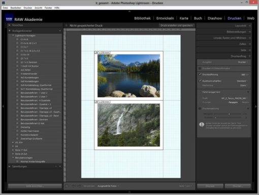Lightroom on Demand: Fine Art Printing