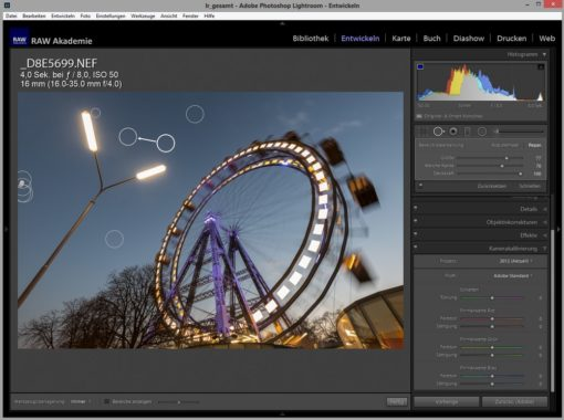 Lightroom on Demand: Alle Lightroom Funktionen voll ausreizen