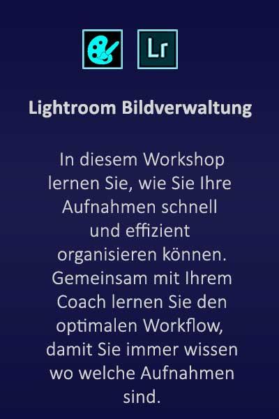 RAW Akademie: Workshop Bildverwaltung mit Adobe Lightroom