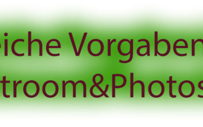 Lr2go: Vorgaben mit Lightroom und Photoshop